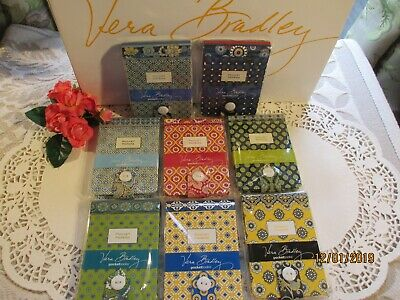 Vera Bradley Pocket Papers NOTEPAD~PICK YOUR PATTERN~New in Pkg~RARE~RETIRED~NWT