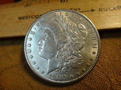 1900 United States Morgan Silver Dollar $1 - No Reserve - Free S&H USA