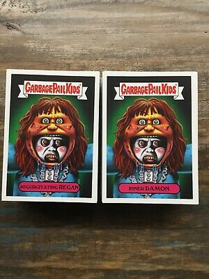 2019 GARBAGE PAIL KIDS REVENGE OF OH THE HORROR-IBLE 200 CARD SET & MO Bile GPK!