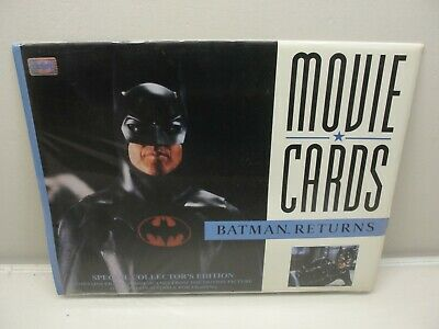 New Rare 1992 Batman Returns Lobby Cards Movie Cards Special Collector's Edition