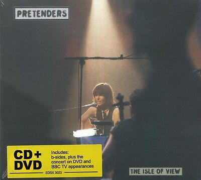 Pretenders - The Isle Of View (CD + DVD) Deluxe Special Edition (New & Sealed)