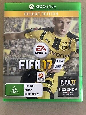 FIFA 17 DELUXE EDITION XBOX ONE GAME — Excellent Condition