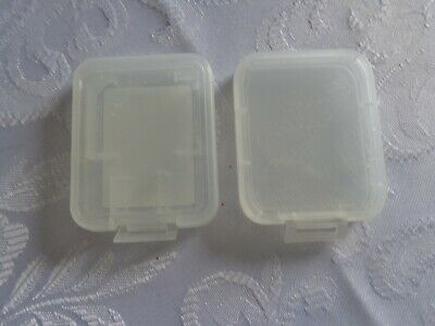 2 x SD/Game Card Plastic Holders