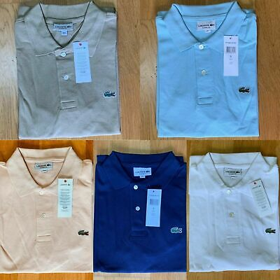 Lacoste Polo Mens factory excess production