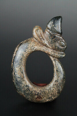 One Fine Chinese Ancient Hongshan Culture Jade Carving Dragon Pendants 0009