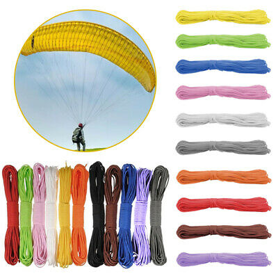 100FT Fashion 550 Parachute Cord Paracord Reel 7 Strand Guy Rope Camping