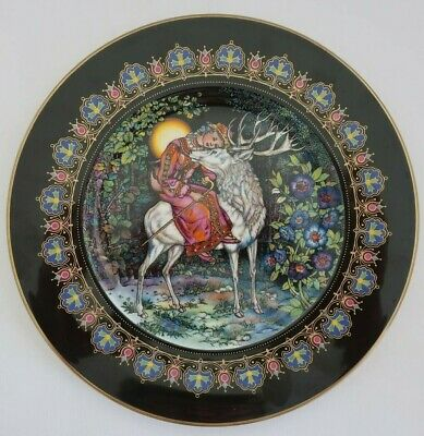 Villeroy & Boch Heinrich MAGICAL FAIRY TALES from OLD RUSSIA  2 Deer & Marjusa
