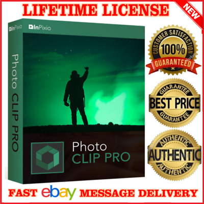 InPixio Photo Clip V9.1.7 pro⭐Download link,serial key for 5 PCs⭐Windows⭐2020