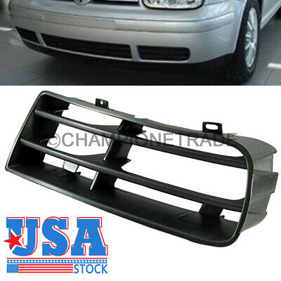 US Front Bumper Right Side Air Vent Insert Grille For 1999-2005 VW Golf MK4