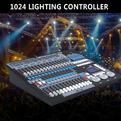 1024 Channels Controller Console Stage Light Party DJ Laser Operator 512 DMX