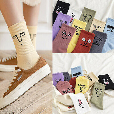 Cool Women Fashion Colorful Funny Socks Girl Socks Unisex Surprise Men Mid Socks