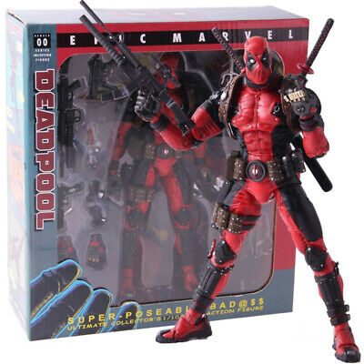 Deadpool Ultimate NECA Epic Marvel Collector's Scale 1/10 Action Figure PVC Toys