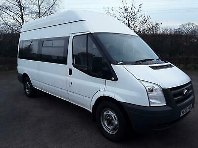 Ford TRANSIT 115 T350L RWD WHEEL CHAIR LIFT 6 SEATER LOW MILEAGE