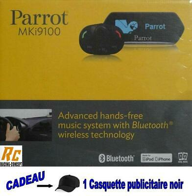 Kit mains libres PARROT MKi 9100 NEUF Bluetooth pour voiture iphone samsung etc