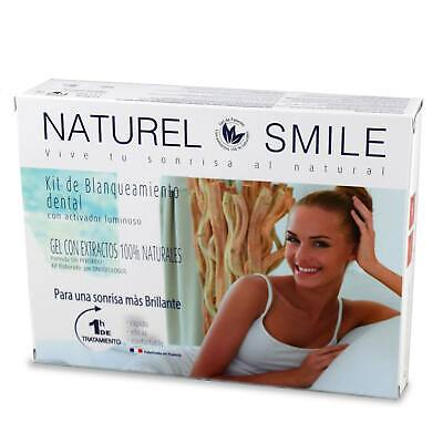 Naturel Smile Kit de blanqueamiento dental resultados el mismo día 100% natural