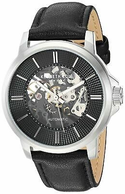 Kenneth Cole New York Men's Automatic Stainless Steel & Leather Watch KC50690002