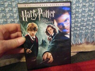 "Pre-owned DVD copy of ""Harry Potter & the Order of the Phoenix""."