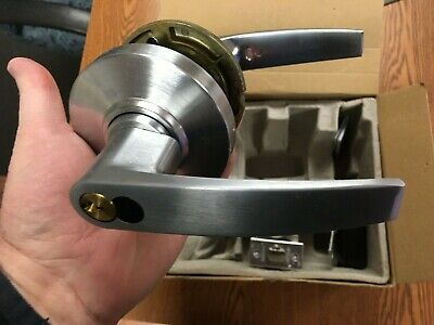 """Ply NOS Schlage A53PD6 Plymouth x 626 2-3//8/"""" backset with T strike"""