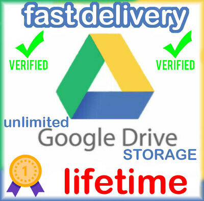 Google Drive Unlimited Storage Lifetime | For Existing Gmail Account |