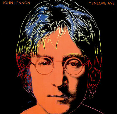 John Lennon Menlove Ave vinyl LP album record UK PCS7308 PARLOPHONE 1986