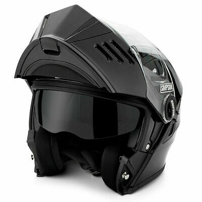New Simpson Mod Bandit Helmet Modular Motorcycle Helmet DOT ECE Approved