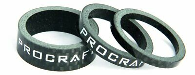 PROCRAFT Spacer Carbon 1 Zoll Set, 3, 5, 10 mm, carbon