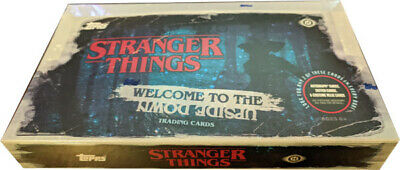 Topps 2019 Stranger Things Welcome to Upside Down Factory Sealed Hobby Card Box