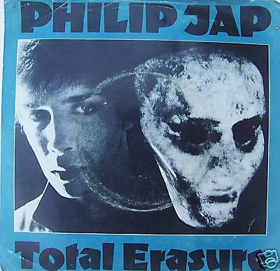 "PHILIP JAP ~ Total Erasure / Brave Lights 7"" Single PS"