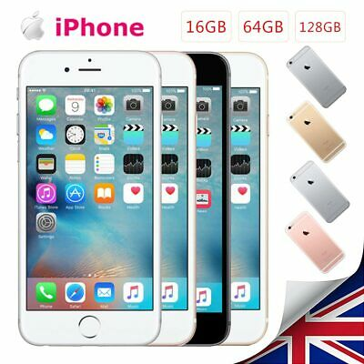 Apple iPhone 6s Unlocked 16/64/128GB Mobile Smartphone SIM Free New 1Yr Warranty