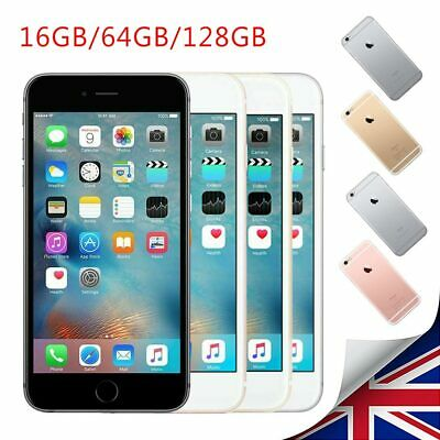 Unlocked Apple iPhone 6s Plus 16/64/128GB Mobile Smartphone Grey Gold Silver New