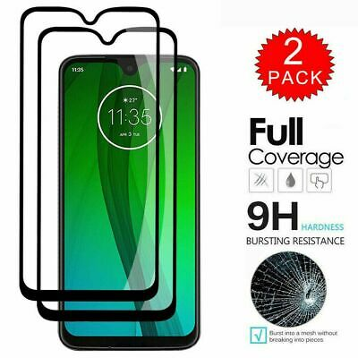 [2/3-Pack] For LG G8X ThinQ FULL Coverage 9H Tempered Glass Screen Protector