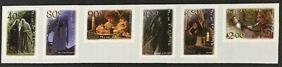 New Zealand 2001 Lord of the Rings (1st.. Issue) Self Adhesive Strip MNH