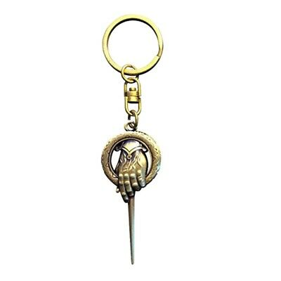 Genuine Game Of Thrones Hand Of The King Metal Keyring Keychain Fob HBO