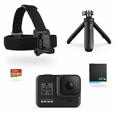 GoPro HERO8 Black Holiday Bundle - Includes HERO8 Black w/  Extra Accessories