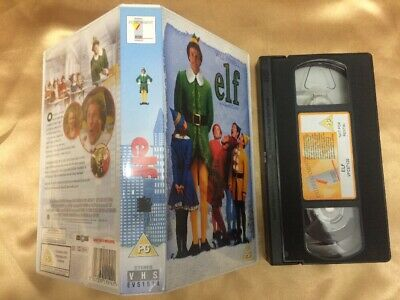 Elf Vhs Video Will Ferrell James Caan Christmas Film