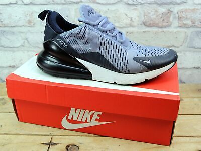 Mens Nike Air Max 270 Grey Sports Gym Trainers Size 7.5 Rrp £115 Damaged Uppers