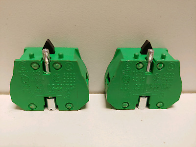 Lot Of (2) New Old Stock! Automation Direct 10A 400V Contact Blocks Ecx1040