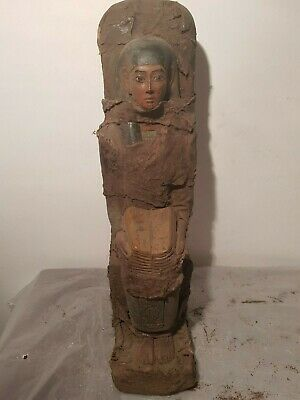Rare Antique Ancient Egyptian Statue Goddes Isis cure Medicine Health1850-1760BC