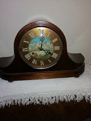 Unusual, HAC, Westminster Chimes Mantle Clock, Excellent Condition & Working.