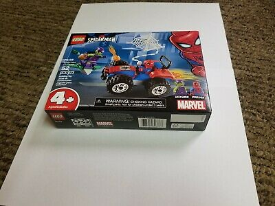 LEGO Marvel Super Heroes Spider-Man Car Chase 76133 New
