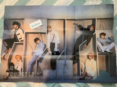 K-POP BTS 4th Album [LOVE YOURSELF 結'Answer] E Ver. OFFICIAL POSTER