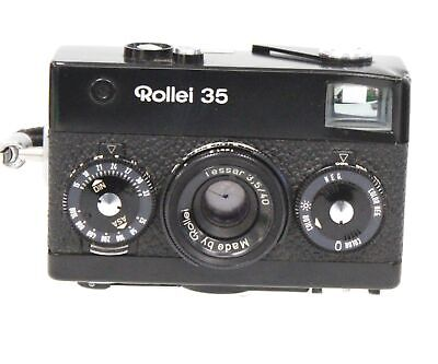 ROLLEI 35 35mm Camera With Tessar 40mm f/3.5 Lens  - UNTESTED  - B28