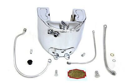 Chrome 1937 Style Oil Tank Kit,for Harley Davidson,by V-Twin