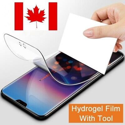 Full Soft Hydrogel Film for Huawei P20 P30 Mate 20 Pro Mate 30 Screen Protector