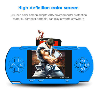 Handheld Portable Pvp 3000 Games Console Retro Megadrive Ds Video Game Kids Gift