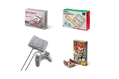 Nintendo Classic Mini Famicom & SuperFamicon & Playstation & Double Pack Console