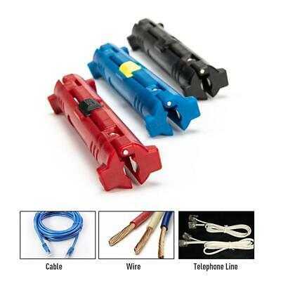 Multi-functional Rotary Coaxial Cable Stripper Wire Cutter Stripping Pliers Tool