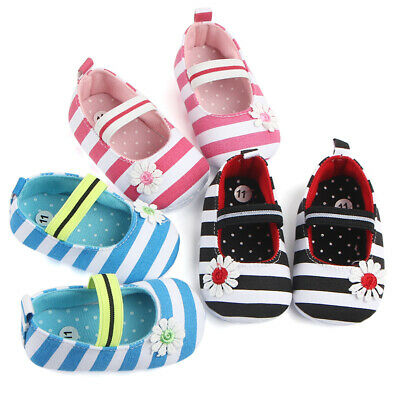 Newborn Baby Soft Sole Crib Shoes Infant Boy Girl Toddler Sneaker Anti-Slip SPD