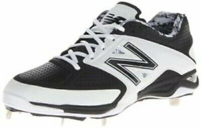 New Balance Men's Low-Cut 4040v2 Metal Cleat Shoes Black/White Trim Size 16 Wide