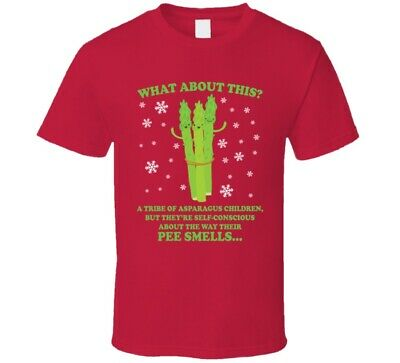 What About This A Tribe Of Asparagus Children Elf Quote T Shirt